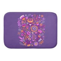 Magic Flowers - bath-mat - small view