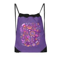 Magic Flowers - drawstring-bag - small view