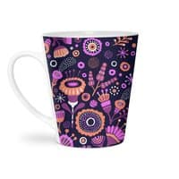 Magic Flowers - latte-mug - small view