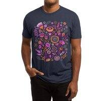 Magic Flowers - mens-triblend-tee - small view