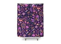 Magic Flowers - shower-curtain - small view