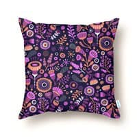 Magic Flowers - throw-pillow - small view