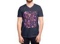 Magic Flowers - vneck - small view