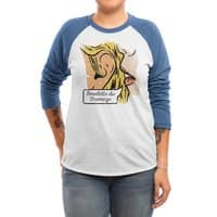 Omelette du Fromage - triblend-34-sleeve-raglan-tee - small view