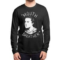 Mouth Breather - mens-long-sleeve-tee - small view