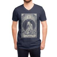 The Hermit - vneck - small view