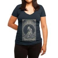 The Hermit - womens-deep-v-neck - small view