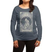The Hermit - womens-long-sleeve-terry-scoop - small view