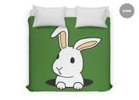 Rabbit Hole - duvet-cover - small view