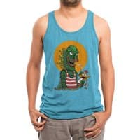 Creature Cocktail - mens-triblend-tank - small view