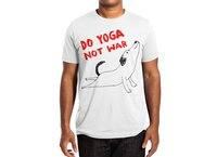 Do Yoga Not War Dog - mens-extra-soft-tee - small view