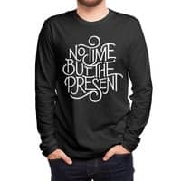 No Time But the Present - mens-long-sleeve-tee - small view