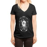 Ouija the mystical - womens-deep-v-neck - small view