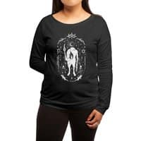 Ouija the mystical - womens-long-sleeve-terry-scoop - small view