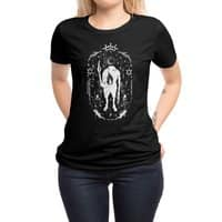 Ouija the mystical - womens-regular-tee - small view