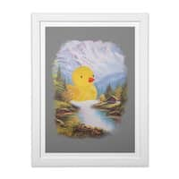 So Quack - white-vertical-framed-print - small view