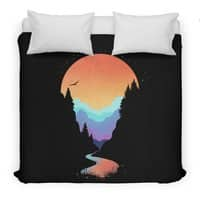 Mountain Stream - duvet-cover - small view