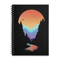 Mountain Stream - spiral-notebook - small view
