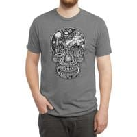 7 Deadly Skulls - mens-triblend-tee - small view
