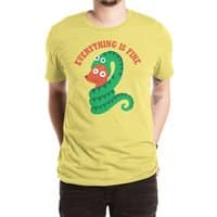 Everything Is Fine - mens-extra-soft-tee - small view