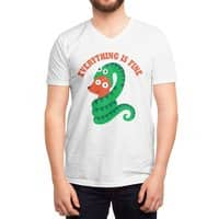 Everything Is Fine - vneck - small view