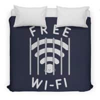 Free Wi-Fi - duvet-cover - small view