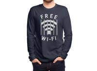 Free Wi-Fi - mens-long-sleeve-tee - small view