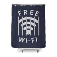 Free Wi-Fi - shower-curtain - small view