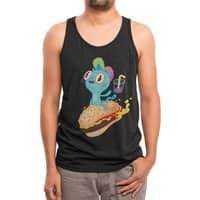 Catburger - mens-triblend-tank - small view