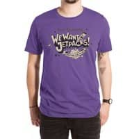We Want Jetpacks! - mens-extra-soft-tee - small view