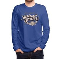 We Want Jetpacks! - mens-long-sleeve-tee - small view