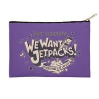 We Want Jetpacks! - zip-pouch - small view