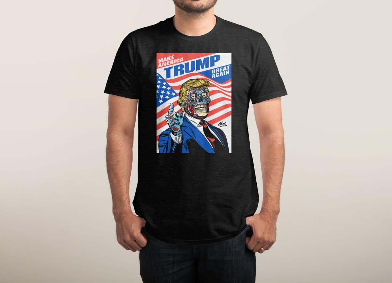 Buy Threadless t-shirts over Tizarre for peace of mind! Never pay extra for shipping & customs! FREE DELIVERY & FREE RETURNS on all UK orders. Tizarre is the only official stockist of famous Threadless t-shirts in the UK! Browse cool printed t-shirts designed by Threadless artist community!