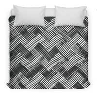 abstract chevron weave   - duvet-cover - small view