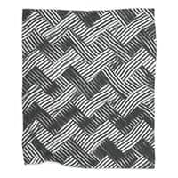 abstract chevron weave   - blanket - small view