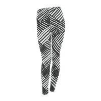 abstract chevron weave   - leggings - small view
