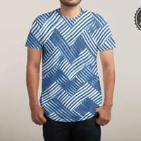 abstract chevron weave   - mens-sublimated-tee - small view