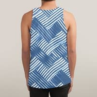 abstract chevron weave   - sublimated-tank - small view
