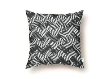 abstract chevron weave