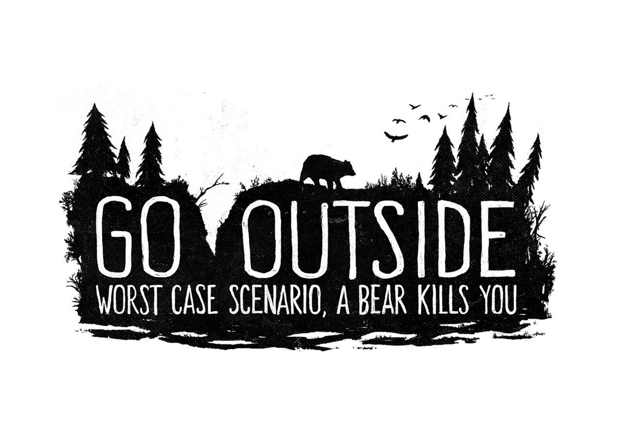 Worst Case Scenario, A Bear Kills You - small view ...