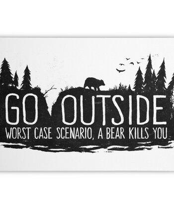 Worst Case Scenario, A Bear Kills You