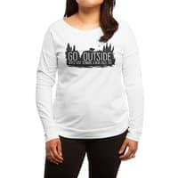Worst Case Scenario, A Bear Kills You - womens-long-sleeve-terry-scoop - small view
