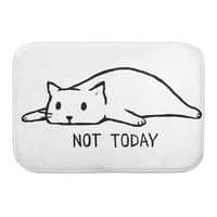 Not Today - bath-mat - small view