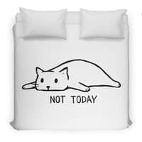 Not Today - duvet-cover - small view