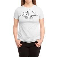 Not Today - womens-triblend-tee - small view
