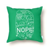NOPE - throw-pillow - small view
