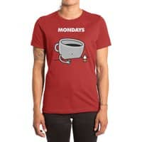 Mondays - womens-extra-soft-tee - small view