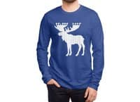 Moose Leaf - mens-long-sleeve-tee - small view