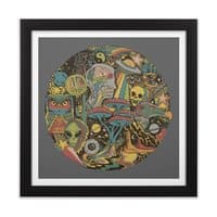 Your Mind's Eye - black-square-framed-print - small view
