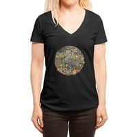 Your Mind's Eye - womens-deep-v-neck - small view